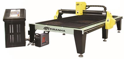 Piranha B Series Plasma Table